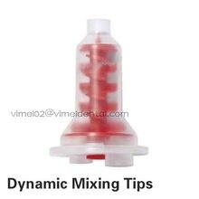 40 pcs/pack embouts de mélange dynamiques dentaires adaptés à 3M ESPE Pentamix Type malaxeur/matériaux d'impression/tête en caoutchouc de silicone