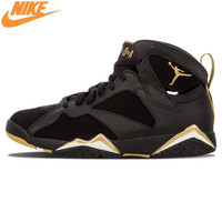NIKE Air Jordan 7 Retro Golden Moments Pack Men's Basketball Shoes Sneakers, Original Outdoor Comfort Shoes 304775 030
