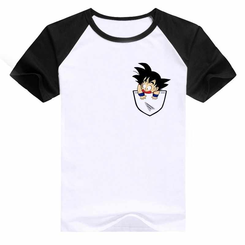 a08748c0 New 2018 Dragon Ball T Shirt Super Saiyan Dragonball Z Dbz Son Goku Tshirt  Japan Vegeta