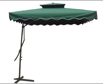 Too White Patio Umbrella Military Arm Wrench Double Top Outdoor Leisure  Advertising Parasol Celi