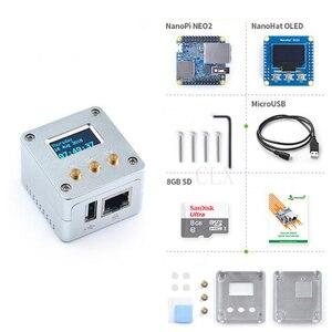 Image 1 - Nanopi NEO2 All Metal Aluminum Housing Kit with OLED Display Ubuntu v1.1 LTS Development Board Faster than Raspberry PI 40X40mm