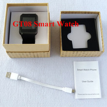 GT08 Bluetooth Smart Watch Phone Smartwatch Armbanduhr mit Kamera für Samsung HTC Huawei LG Xiaomi Android Smartphones