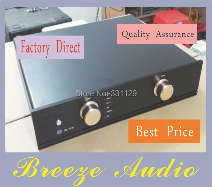 ФОТО Breeze Audio-Preamp/incorporated aluminum chassis ST4309 MBL6010 preamp aluminum enclosure