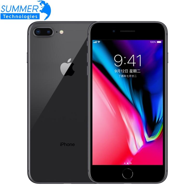 Téléphone portable Original débloqué Apple iPhone 8 Plus LTE 3 GB RAM Hexa Core 12.0MP 5.5