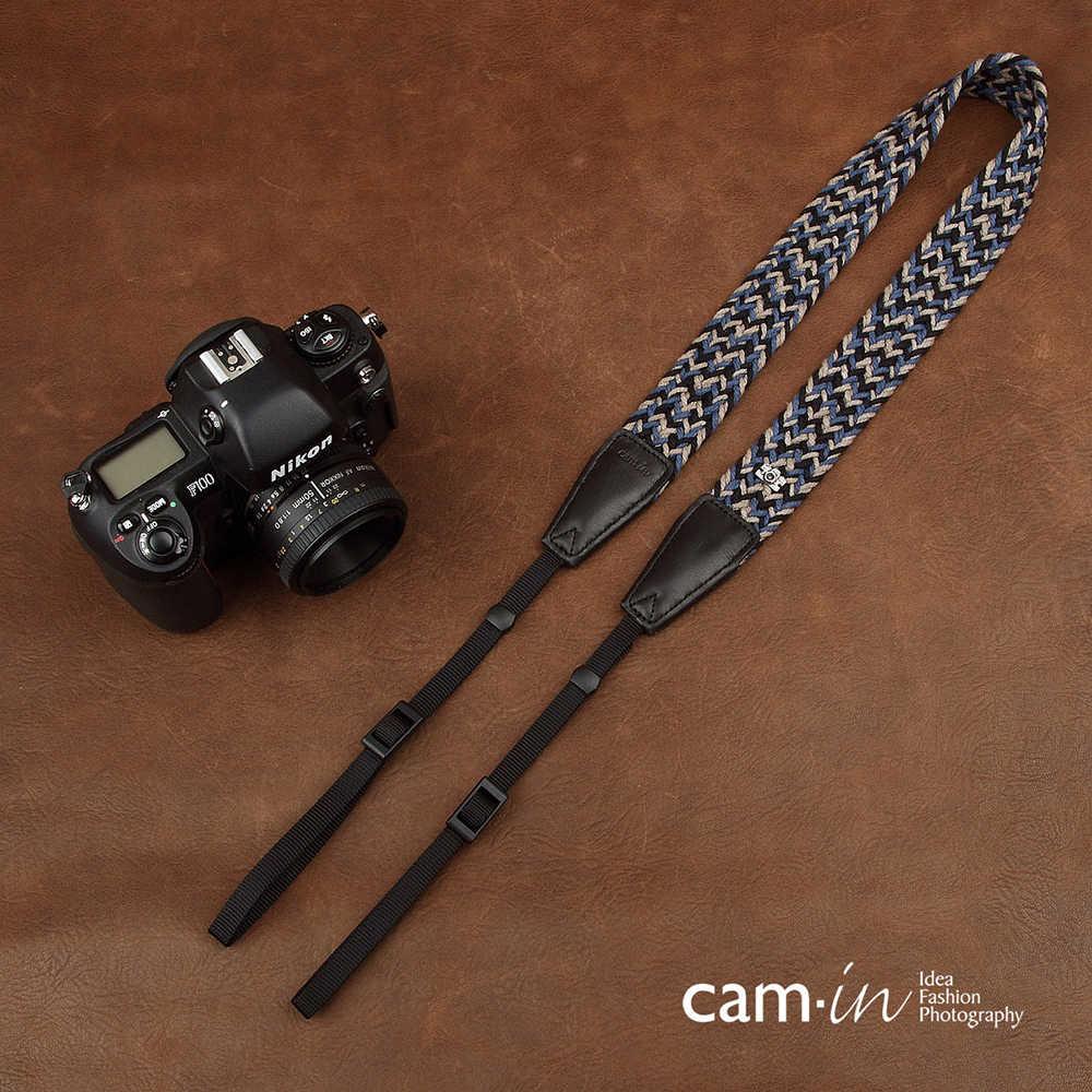 Cam 8780 ручной вязки камеры ремешок с мягкой хлопчатобумажной цифровой SLR плечевой