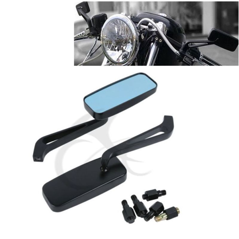 TCMT 8mm 10mm Motorcycle Rear view Side Mirrors for Harley Honda Yamaha Kawasaki Street Sports Bike Chopper Cruiser Motorcycle free shipping motorcycle accessories motorbike rear view mirrors for yamaha honda suzuki kawasaki harley davidson moto parts hot