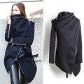 Весна Fshion женщины шерстяные куртки с длинным рукавом большой размер женский темперамент кашемир шерстяные теплой одежды. Высокое качество 21584253