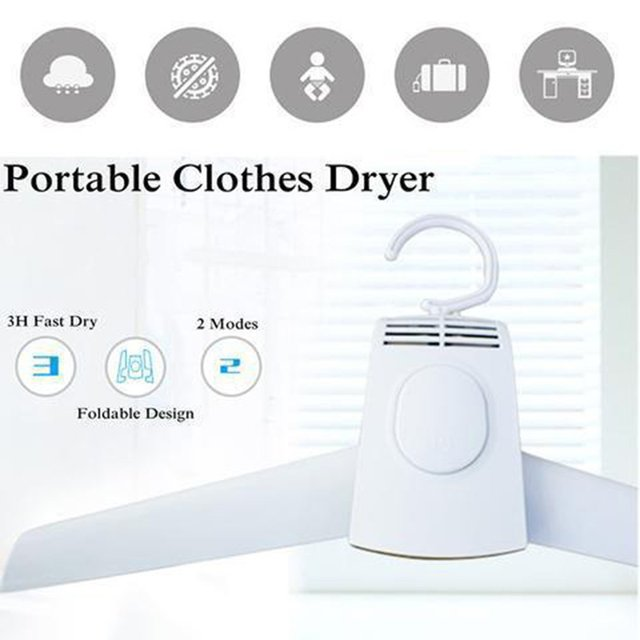 Electric Clothes Drying Rack Smart Hang Clothes Dryer Portable Outdoor Travel Mini Folding Available Clothing Shoes Heater 150w
