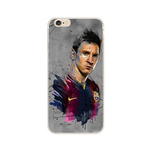Barcelona Football Super Stars Messi Neymar Ronaldo IPhone Cases