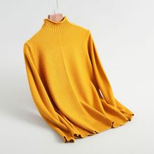 Shuchan Turtleneck Sweater For Women Sweaters And Pullovers  Autumn Korean Womens Tops Fall Winter 2018 New Style 8-1856