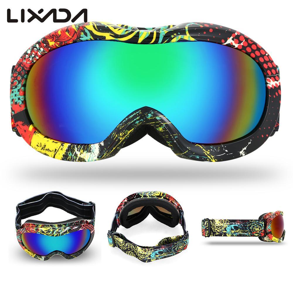 Kid Anti Fog Ski Goggles Uv Dual Lens Snowboard Goggles