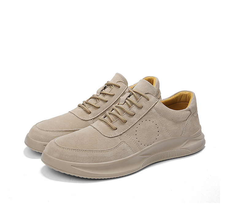 Casual Genuine Leather Suede Sneakers Unisex 13