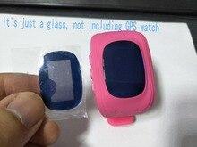 Montres Verre pour GPS tracker montres Q50 écran en verre miroir saphir matériel