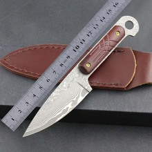 Outdoor Camping Hunting Knife With High Hardness Handmade
