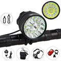 Tactical Rechargeable 20000 Lm 13x XML T6 LED 3 Modes Bicycle Lamp Bike Light Headlight Cycling Torch