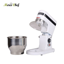 Home use or commercial use 5 Liters electric stand food mixer, planetary cooking mixer, egg beater, dough mixer machine недорого