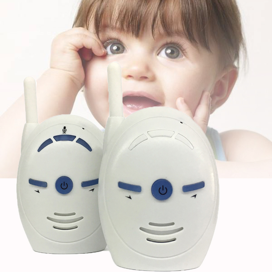 V20 Wireless Digital Audio Baby Monitor Two Way Talk Clear Cry Voice Alarm NZE