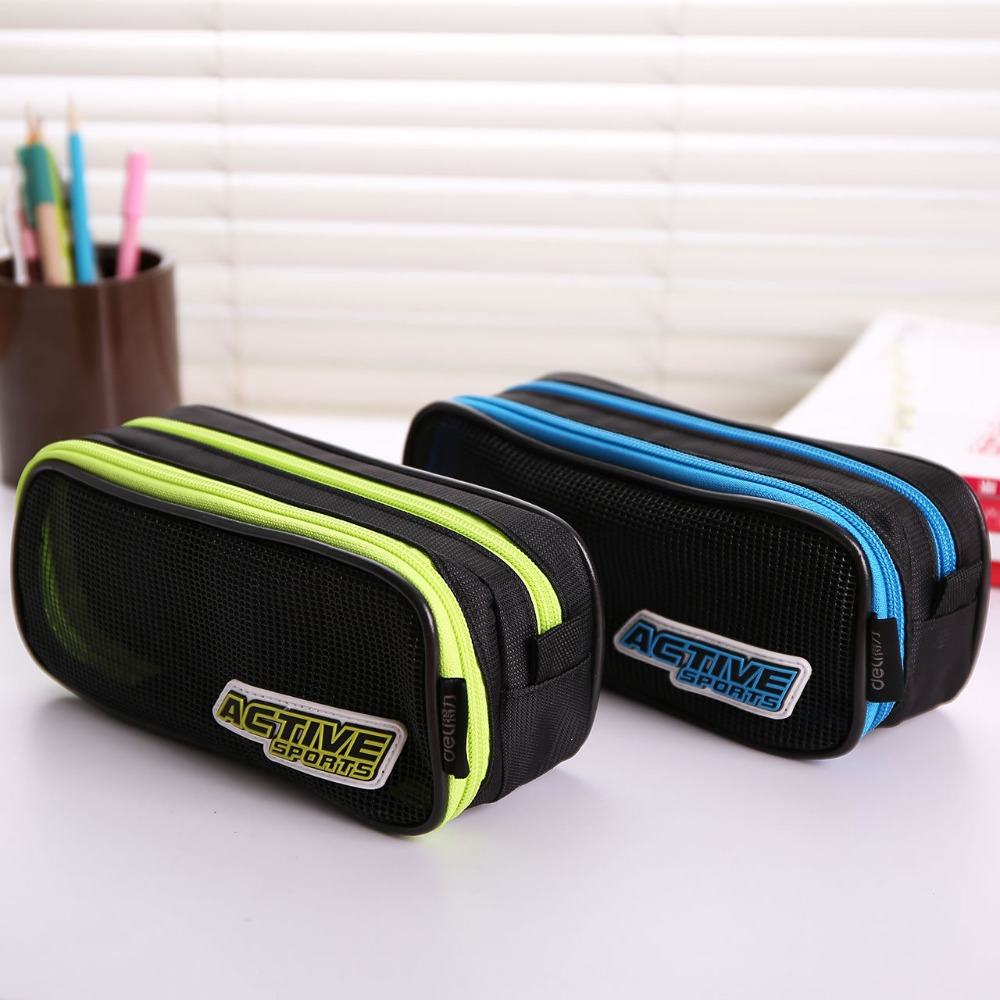NOVERTY High Quality Big Pen Canvas Multifunction Boys Cute Pencil case Stationery Storage School Pencil Box Pen Bags 04854 big capacity high quality canvas shark double layers pen pencil holder makeup case bag for school student with combination coded lock
