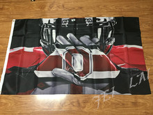 Ohio State Buckeyes Flag 3ft x 5ft Polyester NCAA Banner Ohio State Buckeyes Flying Size No.4 144* 96cm Custom flag