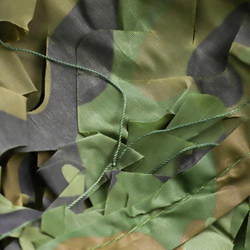 1.5x10 متر الغابات كامو شبكة تظليل دائم العسكرية الظل أشرعة التخييم شبكة المظلة الصيد سيارة إخفاء غطاء في الهواء الطلق الشمس المأوى خيمة