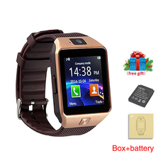 Купить с кэшбэком Smart Watch DZ09 Bluetooth Relojes Smartwatch Relogios Android TF SIM Camera Smart Clock Watches For Samsung Huawei Xiaomi Gift