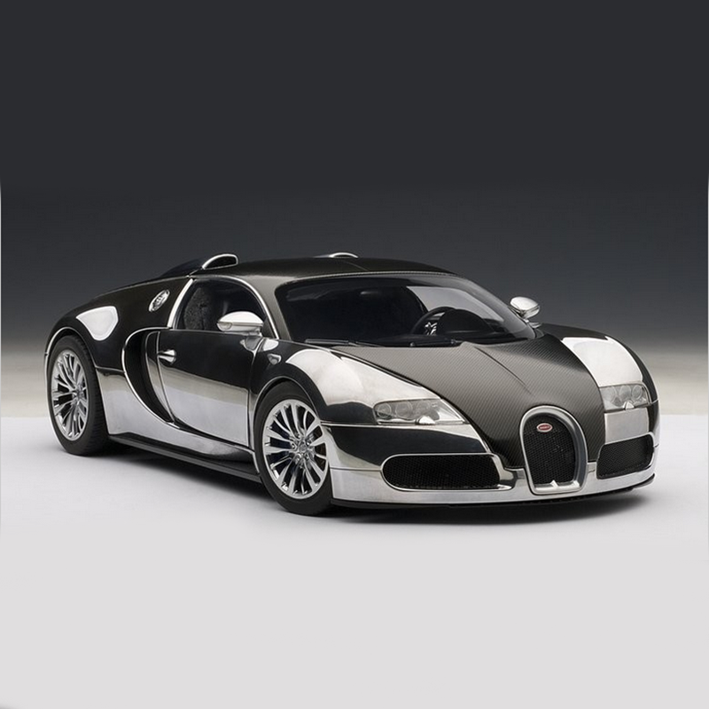 Autoart 1:18 Alloy Pull Back Toy Bugatti VEYRON 16.4 Car Model Of Children's Toy Cars Original Authorized Authentic Kids Toys women plus size tankini set navy blue floral bathing suit sexy triangle bottom bikini push up swimwear female tankini swimsuit