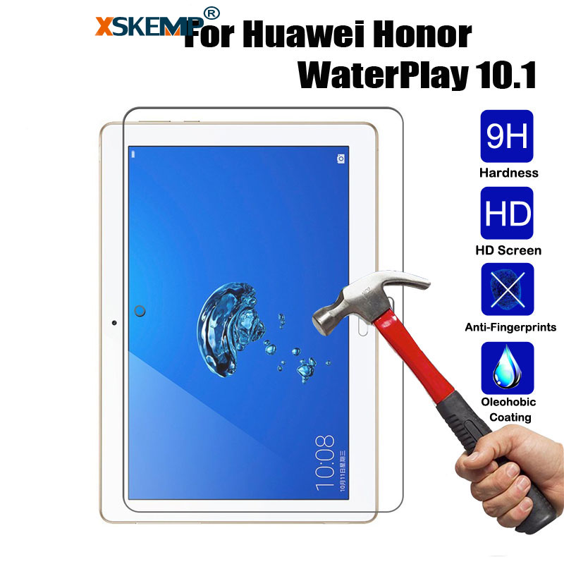 10Pcs Wholesale 9H Cheap Tempered Glass Tablet Screen Protector For Huawei Honor WaterPlay 10.1 Shield Protective Film