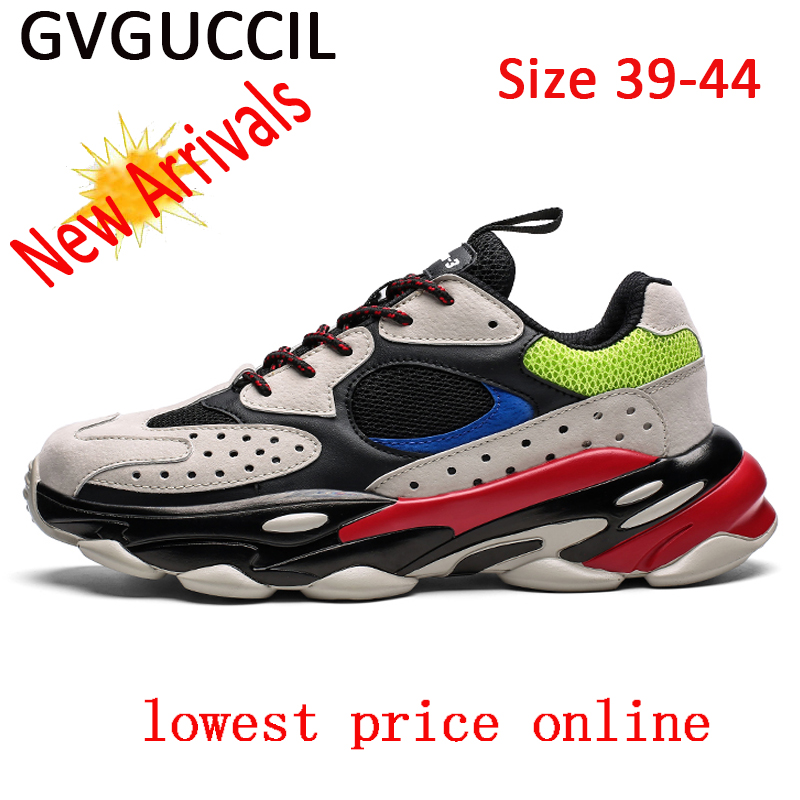 Gvguccil 2019 The New Listing Outdoor Jogging Men Running Shoes Men Sneakers Athletic Walking Sport Shoes For Men Walking Shoes