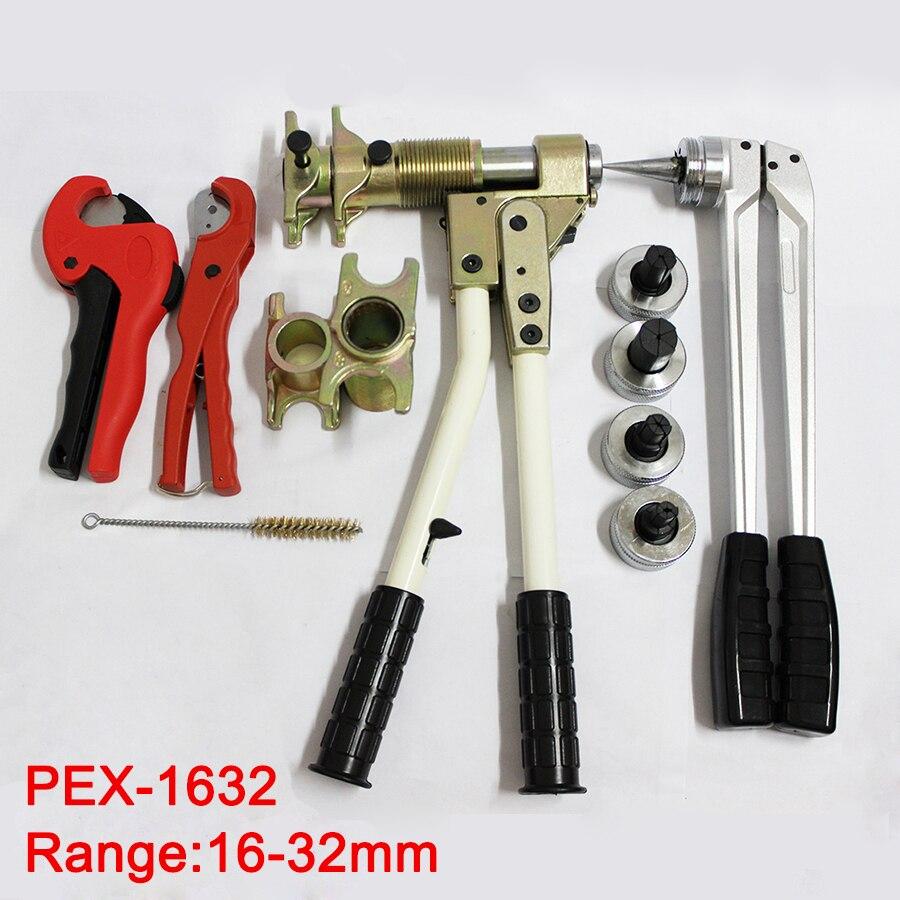 Livraison gratuite Tuyau De Serrage Outil outil de Montage PEX-1632 RANGE 16-32mm utilisé pour REHAU Raccords bien reçu Rehau plomberie Outil