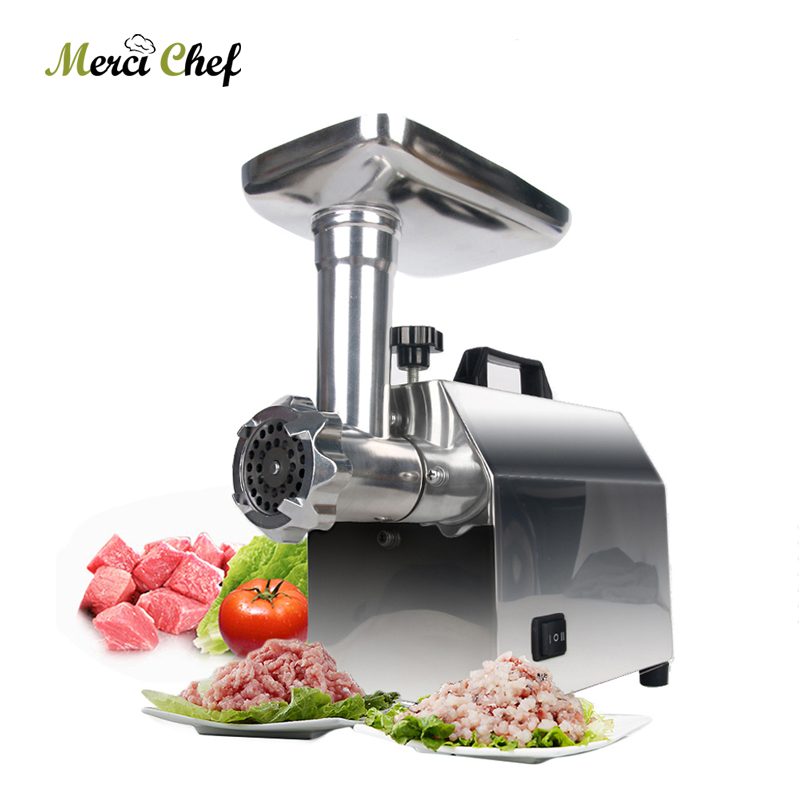 ITOP Meat Grinder Sausage Maker Electric Meats Mincer Food Processor Grinding Mincing Machine 110-240V 140W Kitchen Appliances 110 240v electric meat grinder heavy duty household commercial sausage maker meats mincer food grinding mincing machine