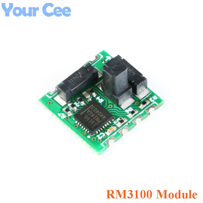 PNI RM3100 Geomagnetism Sensor Module Triaxial Magnetic Field Sensor SPI Interface High Accuracy 13156 13104 13101
