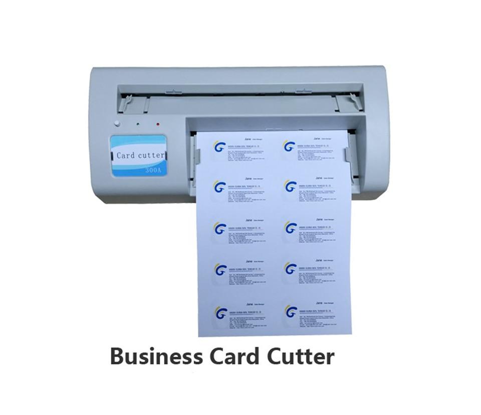 Business name card cutter machine Business cutting machine