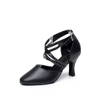 Latin Dance Shoes Woman Ballroom Dance Shoes For Women Girl Salsa Genuine Leather Sexy Shoelaces