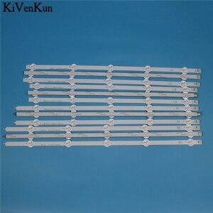 Image 2 - Bande de rétro éclairage LED de lampe HD pour LG 50LA6218 50LA6230 50LA621S 50LA621V 50LN543V 50LN548C  ZD ZA ZB bandes de LED de télévision