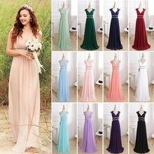 Women Formal Elegant Gala Dress for Graduation Chiffon A Line Party Gown