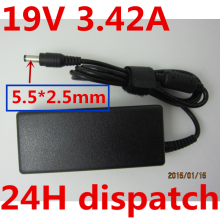 HSW 19V 3.42A AC Laptop Power Adapter Charger For Asus A3 A600 F3 X50 X55 A8 F6 F83CR X550V V85 A9T K501 K501J K50i K52F M9V