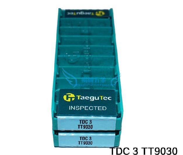 good quality 50pcs TDC2 TDC3 TDC4 TDC5 TT9030/TT8020 CNC Carbide insert taegutec grooving CNC lathe tool turning tool cnc tool high quality cnc lathe internal grooving and turning tool holder mgivl2520 3 mgivr2520 3 for carbide insert mgmn300 m