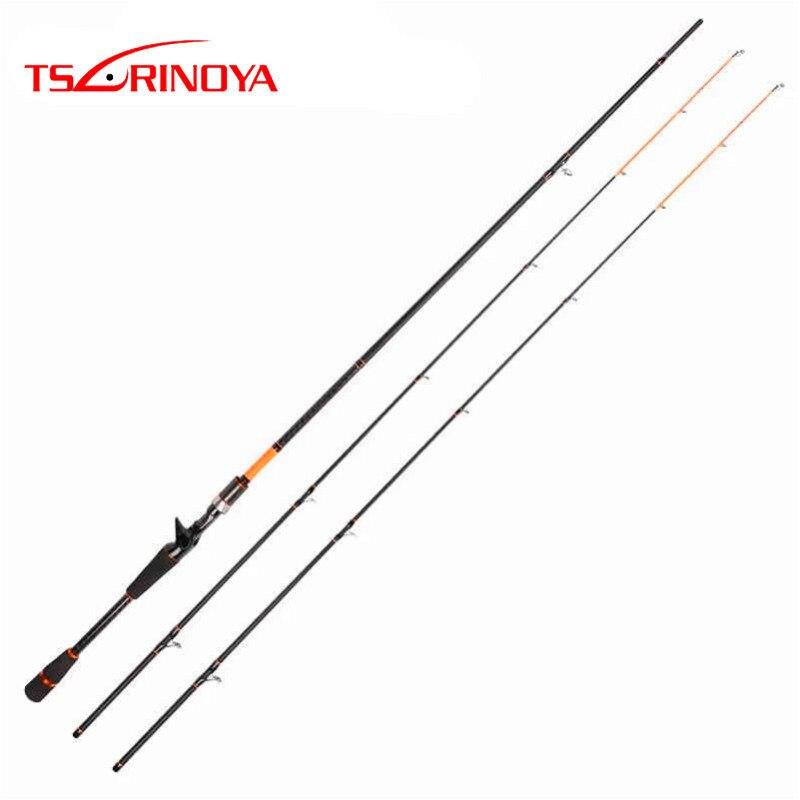 Tsurinoya 2 Tips Baitcasting Fishing Rod 2Section 2 1 2 4m M ML Carbon Lure Rod