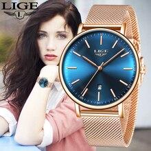 Women Watches LIGE Luxury Brand Fashion