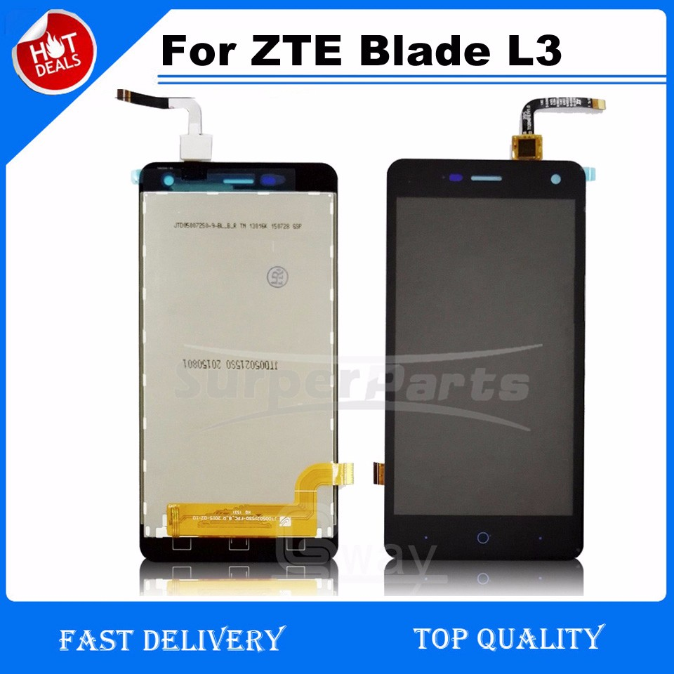 full lcd display for zte blade l3 lcd with digitizer touch. Black Bedroom Furniture Sets. Home Design Ideas