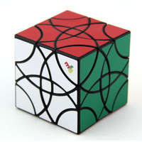 MF8 Curvy Copter III Magic Cube Puzzle Black And Stickerless Learning & Educational Cubo magico Toys 60mm