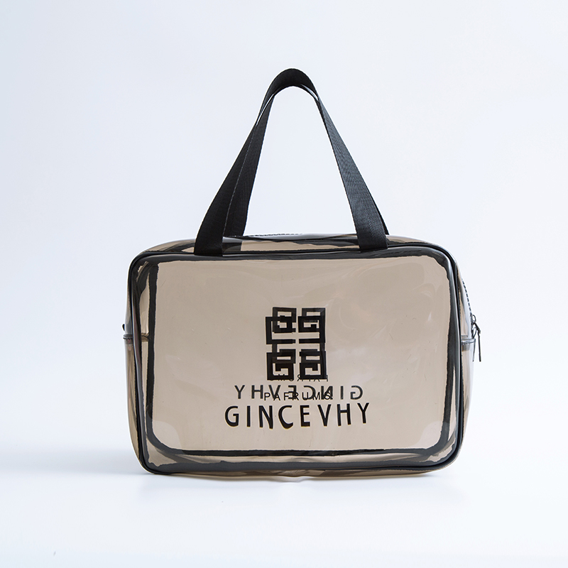 Business Travel Large Capacity Male Ladies Portable Makeup Bag Female Waterproof PVC Transparent Cosmetic Bag