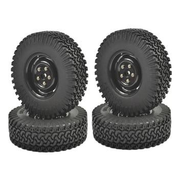 4 Uds. Juego de neumáticos crawler de 1,9 pulgadas con inserto de espuma para 1/10 RC Crawlers