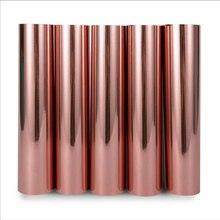 30CM * 152CM różowe złoto winylu rzemiosła winylu na kubek samochodu naklejki ścienne własny projekt winylu 12 x 60