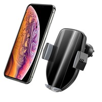 10W Qi Car Quick Wireless Charger Phone Holder Intelligent Infrared Car Mount Phone Holder For iPhone Xs Max Xr X Samsung S10 S9