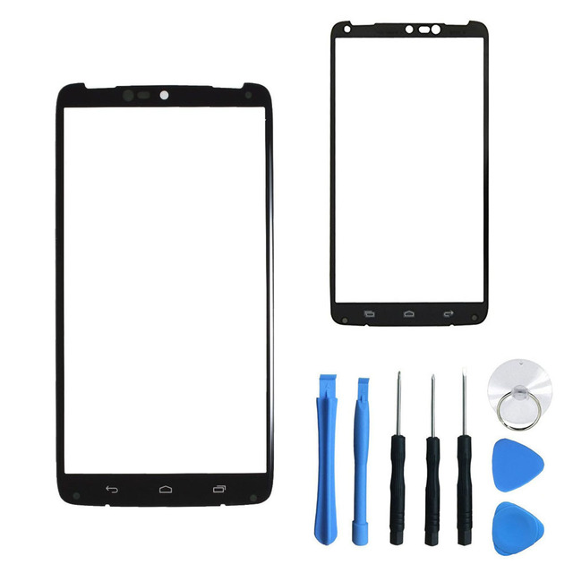 For Motorola Droid Turbo XT1254 XT1225 Moto Maxx Replacement Front Touch Screen Outer Glass Lens+Free Tools With Tracking Number