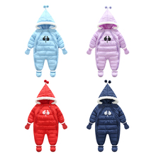 Vinnytido Baby Footie For Snowsuit Toddler footies Christmas Clothing Winter Jumpsuit Lucky Child