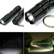 Tactical 8000LM Zoomable LED Flashlight Rechargeable battery Torch with BOX Mini torch Bicycle Light(China)