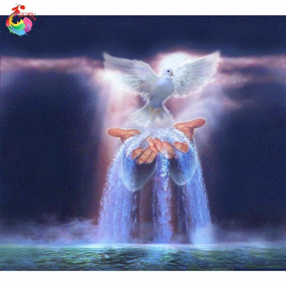 DIY beadwork kits diamond pictures love beadwork embroidery painting diamond pattern cubo rubik angel series ANGEL BIRD