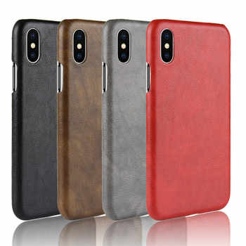 30PCS Ultra Thin Leather Case For iPhone 8 7 6s Plus Business Style Case For iPhone X Back Protector - SALE ITEM All Category